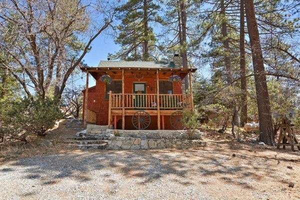 Tiny Mountain Cabin in Idyllwild California For Sale with Land 0024