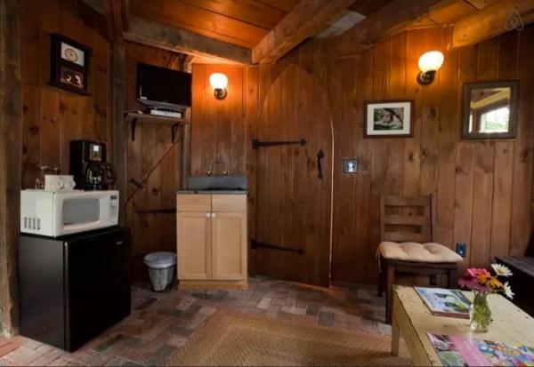 Inside the Silo Cabin