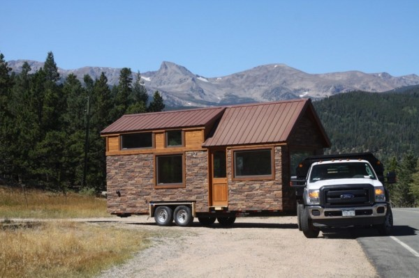 Tiny Stone Cottage on Wheels by Simblissity 001