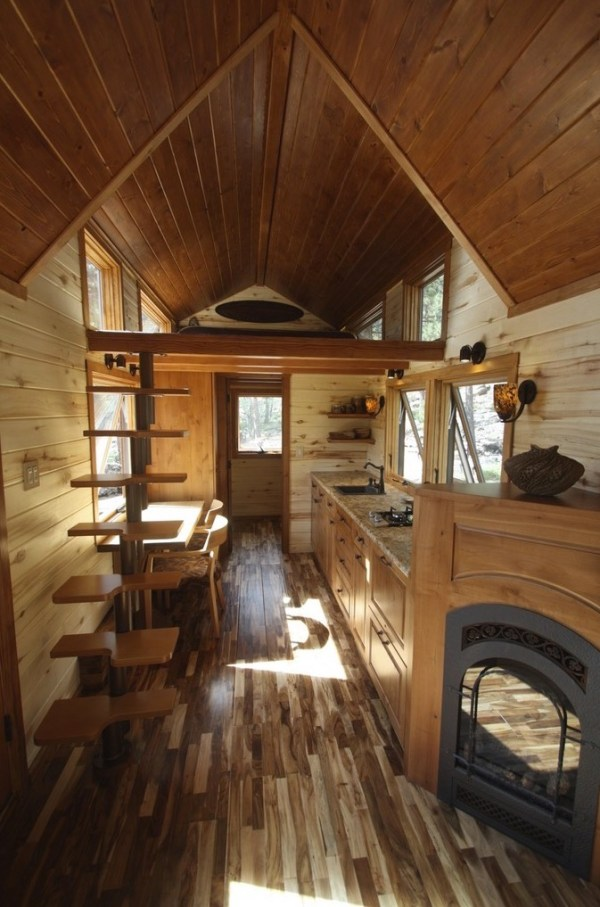 Tiny Stone Cottage on Wheels by Simblissity 003