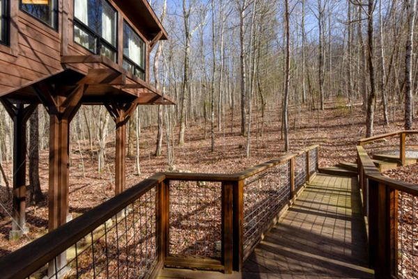 Tiny Treehouse Cabin in Maryville TN by Architect Gary Best_018