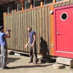 Tiny V House Cabin by Nelson Tiny Houses 001