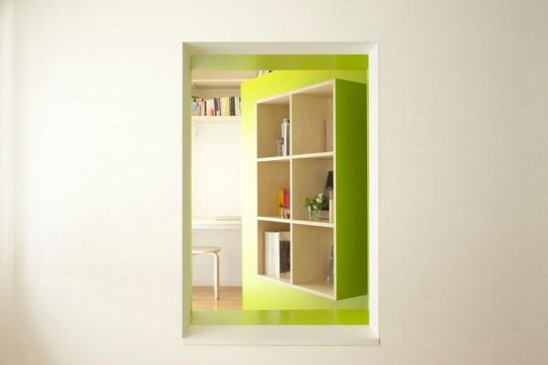 Tokyo Switch Office Apartment by Yuko Shibata 008