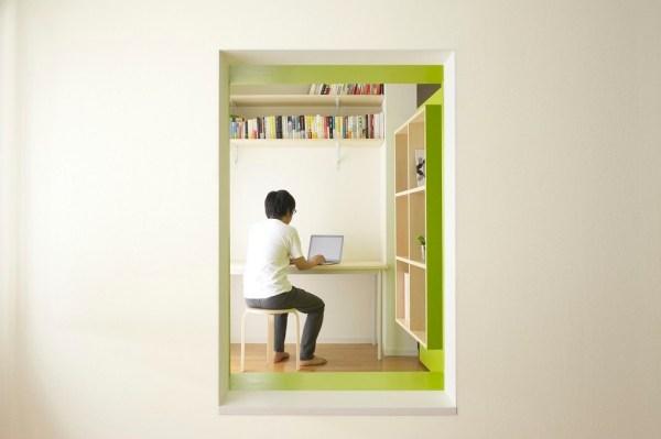 Tokyo Switch Office Apartment by Yuko Shibata 009