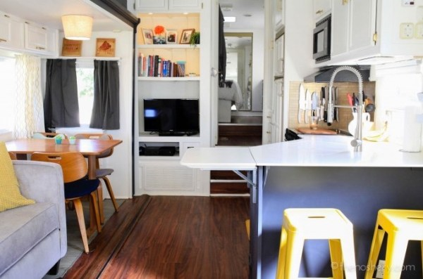 Trailer to Tiny Home Conversion 003a