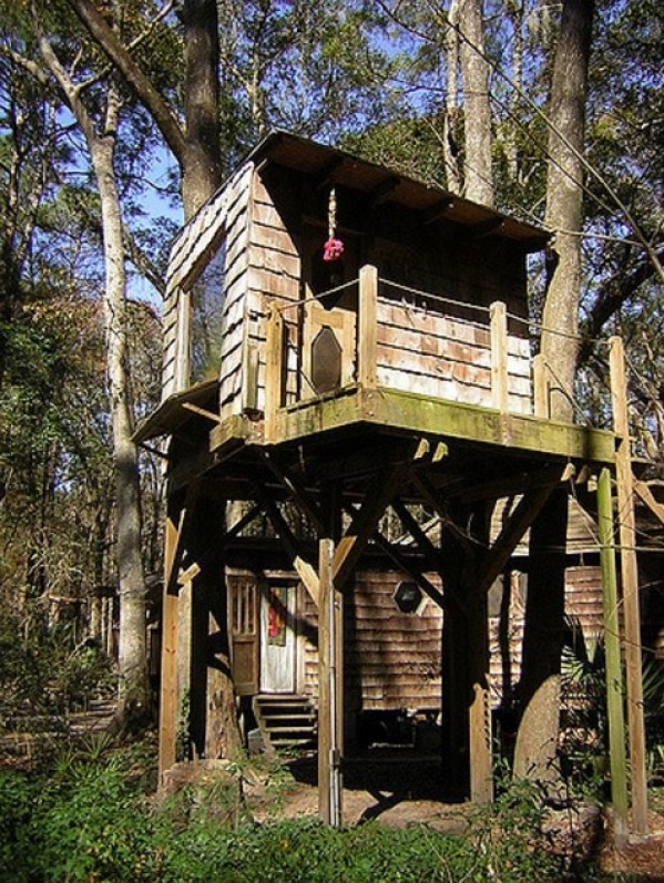 Tree Houses at Hostel Forest in Brunswick Georgia 0014