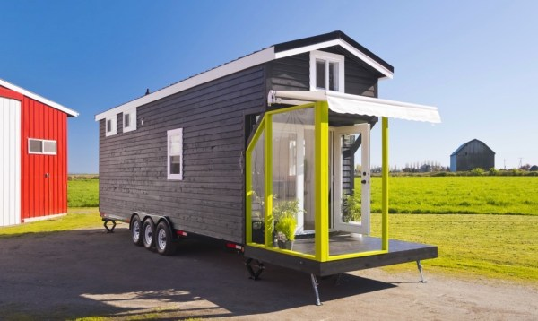 Triple Axle Tiny Home on Wheels by Tiny Living Homes 001