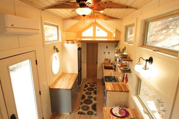 Valhalla 35ft Gooseneck Tiny House by Simblissity 004c