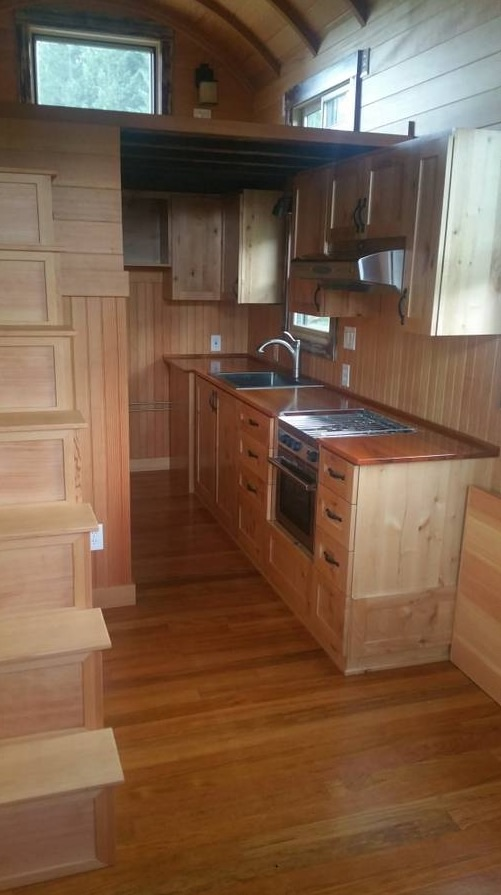 Vardo Style Tiny House on Wheels For Sale 0017