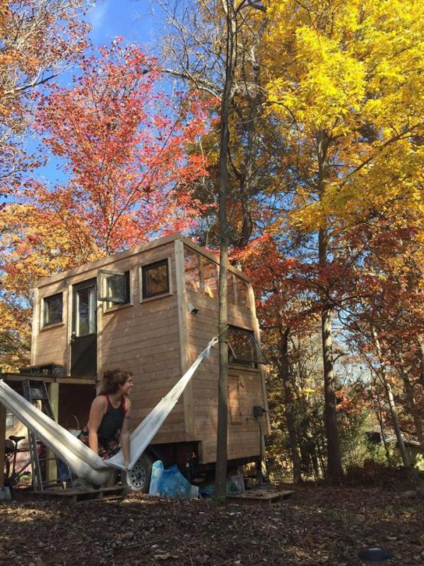 Woolly Resistance Tiny House by Carpenter Owl 001