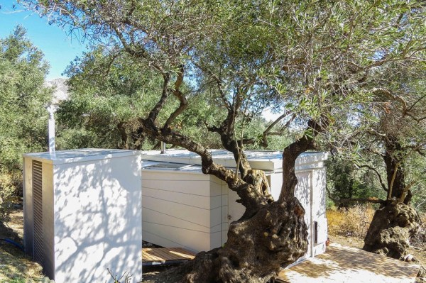 Yoga Teachers Modern Off-Grid Crete THOW in Greece by Echo Living 009