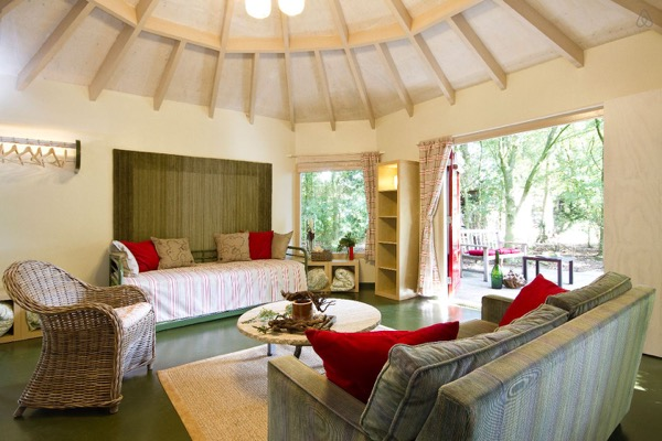 Vacation in a Yurt