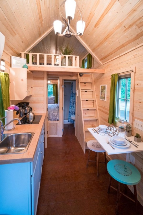 Zoe Cypress 20 Tiny House at Mt Hood Tiny House Village via TinyHouseTalk-com 008
