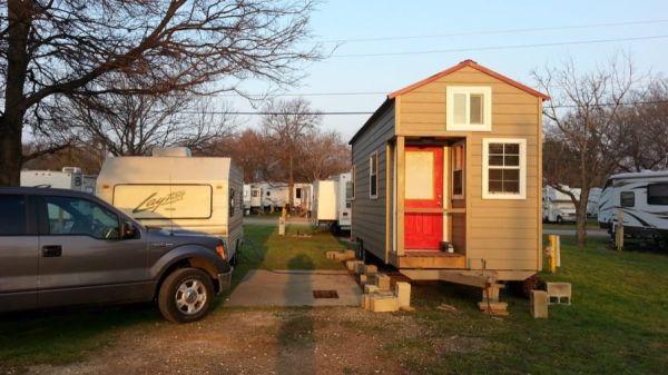 Alan's 8x24 Tiny House For Sale