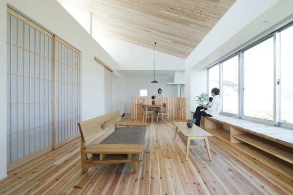 alts design office 768 sf japanese family small house 009 600x399   Minimalist 778 Sq. Ft. Japanese Family Small House