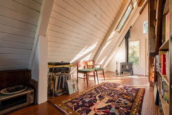 Cozy A Frame Cabin Posted From Tiny House Talk A Cottage Dream