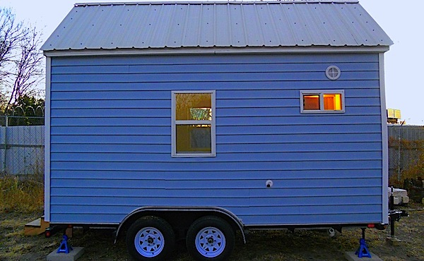 Austin Tiny House by Louis Burns