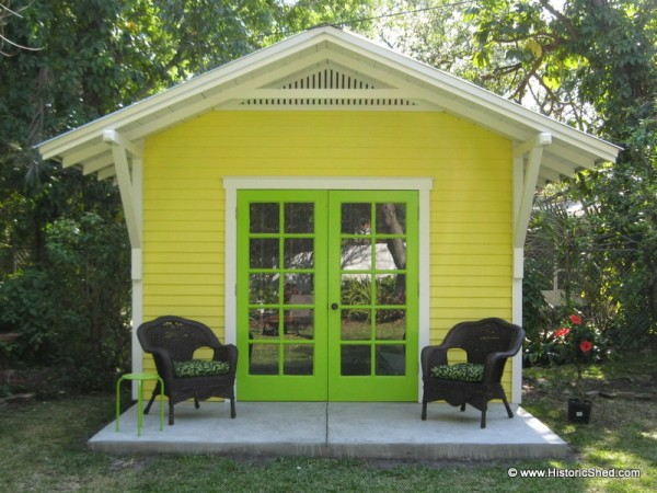 144 Sq. Ft. Backyard Shed Art Studio