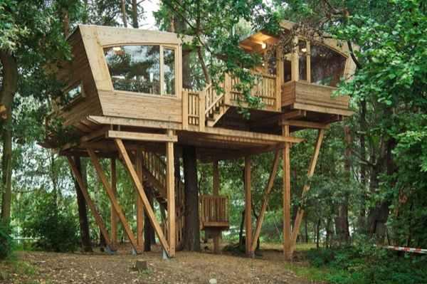 210 Sq Ft Modern Treehouse Tiny Home