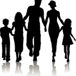 bigstock-Family-Silhouette-6935625