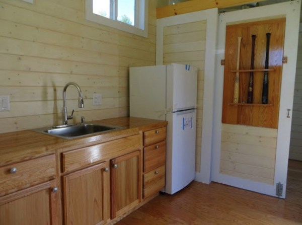 kitchen of small home