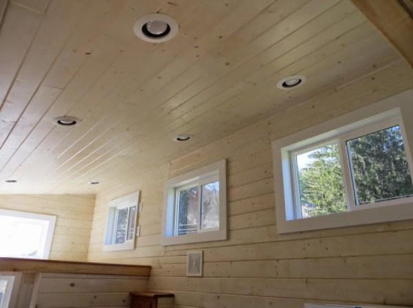 windows in sleeping loft