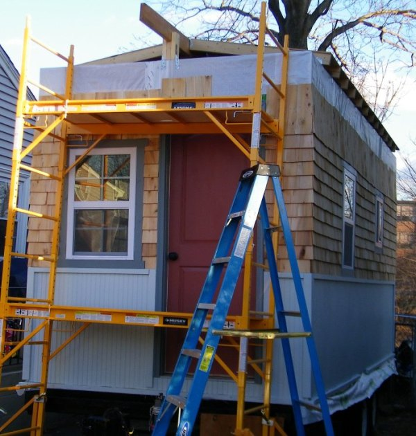 Building A Mortgage Free Tiny House By The Seat Of My Pants