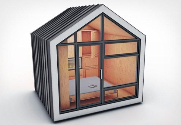 Bunkie Prefab Modern Tiny House Concept