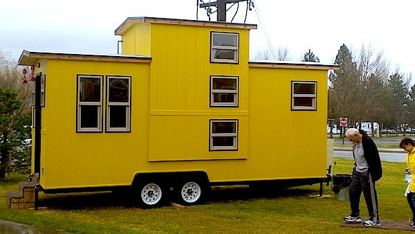 Caboose Tiny House by Maximus Extreme