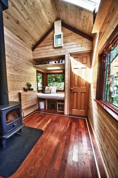 Candice's Tiny Tack House: Interior Photos: Modified Tumbleweed Fencl: Photos by Chris Tack (1)