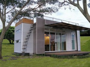 160 Sq. Ft. Shipping Container Tiny House