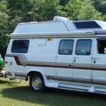 Class B RV with a Smart Car