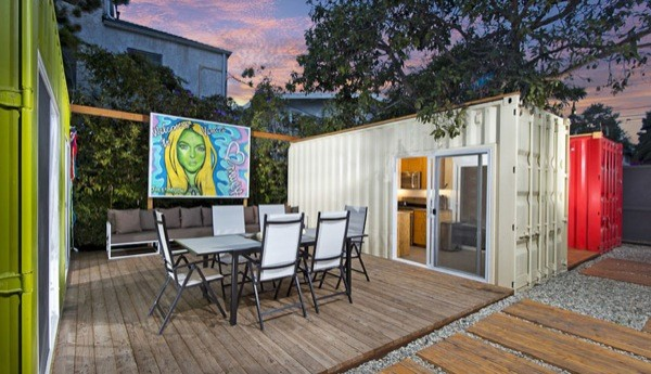 Modern Shipping Container House In Venice CA