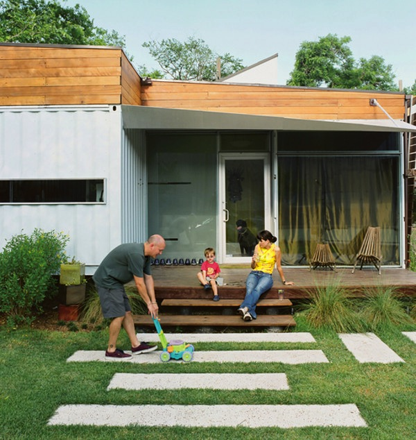 Cordell House - Shipping Container Home for a Family