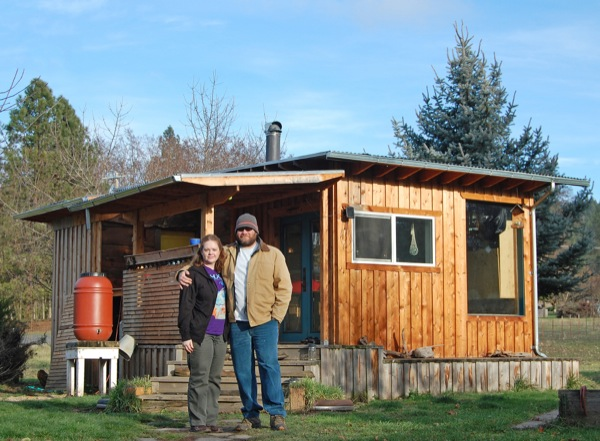 Couple Build Diy Reclaimed Off Grid Tiny Cabin For 7k