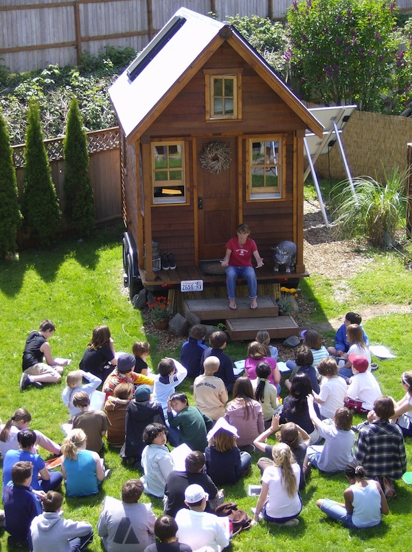Dee Williams hosting her own Tiny House Workshop