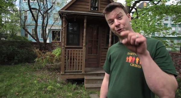 Deek tours original Jay Shafer Epu Tumbleweed Tiny House