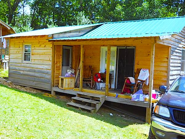 Deputy Gene's Small Cabin Almost Completed