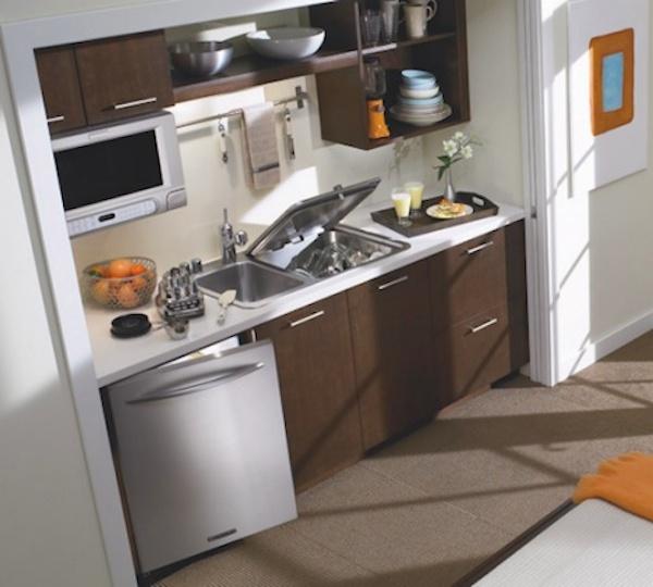 space saving kitchen ideas combo sink