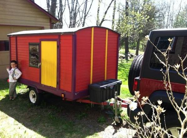 diy vardo camper for sale: affordable mobile micro cabin