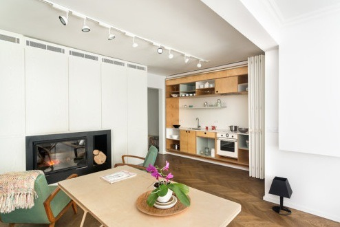 Hidden Kitchen Design For Small Spaces