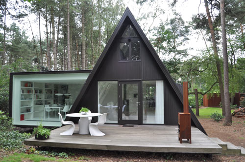 DMVA A-frame Tiny Cabin Renovation