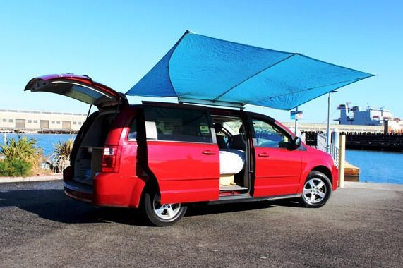 Dodge Grand Caravan Minivan Camper
