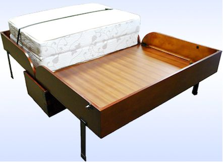 Galloway Mobile Wallbed for Small Spaces