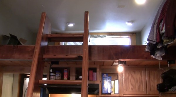 Garage Tiny House with Sleeping Loft