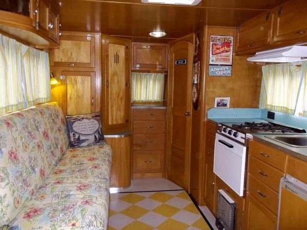 Man Rehabs Old Travel Trailer Into Diy Tiny House For Travels