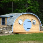 Hobbit Hole Tiny Cottage by Wooden Wonders