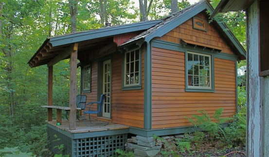 Hobbitat Tiny House Builder Offers Micro To Small Reclaimed Cabins
