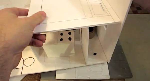 how to build scale 3d tiny house design - Build Your Own Model House