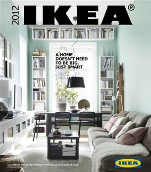 Ikea's 2012 Catalog Focuses on Small Spaces
